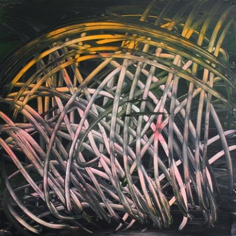 Long Day End, 2016, 60 x 60 cm, acrylic on MDF