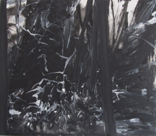 Untitled (So this is winter), 2012, 61×70 cm, acrylic on board (private collection Hengelo)