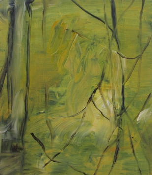 Twigs, 2012, 70×61 cm, acrylic on board (private collection Blaricum)