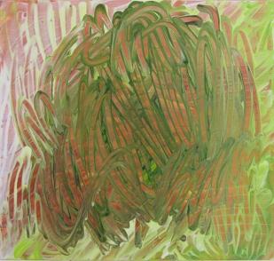 Dancing Crickets, 2014, 40×42 cm, Acryl op MDF