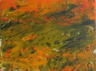 Fata Morgana, 2015, 18x24 cm, acrylic on canvas