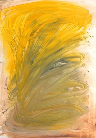 Buzzing, 2017, 60 x 42 cm, Acrylic on MDF