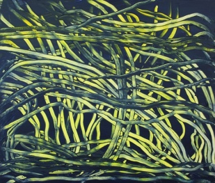 Sea Grass, 2017, 60x70 cm, acrylic on MDF